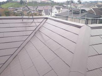 屋根塗装 (藤枝市S様邸)