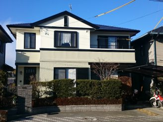 外壁塗装 (藤枝市S様邸)