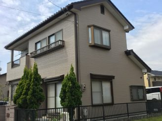 外壁塗装(静岡市清水区S様邸)