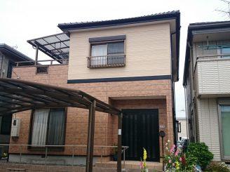外壁塗装(静岡市清水区A様邸)