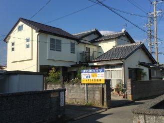 屋根・外壁塗装(静岡市葵区M様邸)