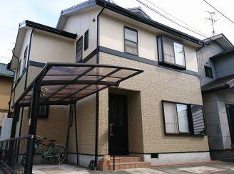 外壁・屋根塗装(静岡市駿河区中田A様邸)