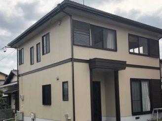 屋根、外壁塗装工事(静岡市清水区押切O様邸)