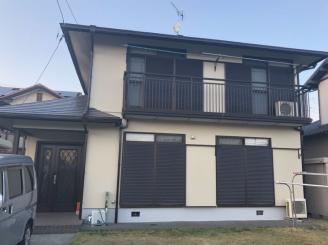 屋根、外壁塗装工事(静岡市清水区蒲原N様邸)