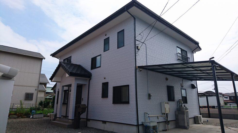 外壁塗装 (富士市I様邸)