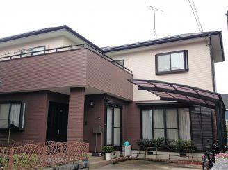 外壁塗装 (富士市O様邸)