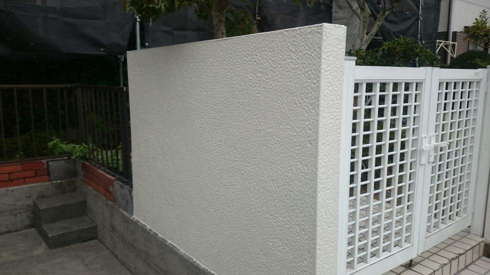 外塀塗装 (藤枝市S様邸)