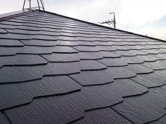 屋根塗装 (静岡市葵区K様邸)