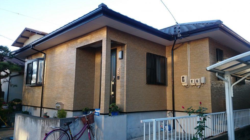 外壁塗装 (藤枝市O様邸)