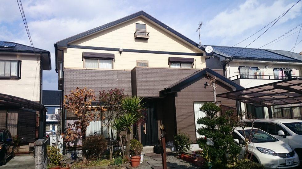 外壁・屋根塗装 (富士市N様邸)
