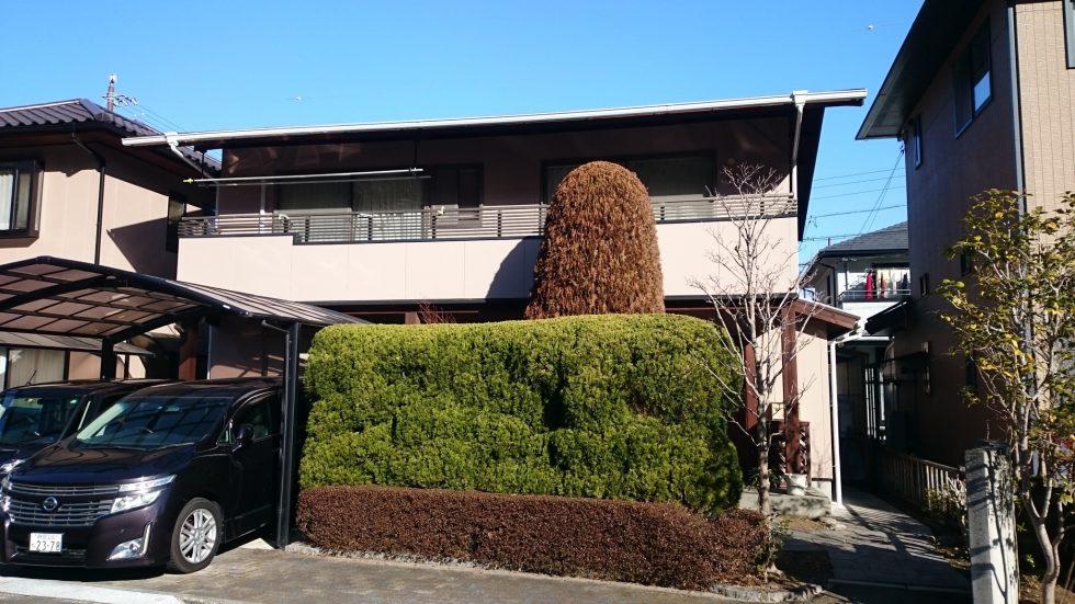 外壁・屋根塗装 (静岡市葵区U様邸)