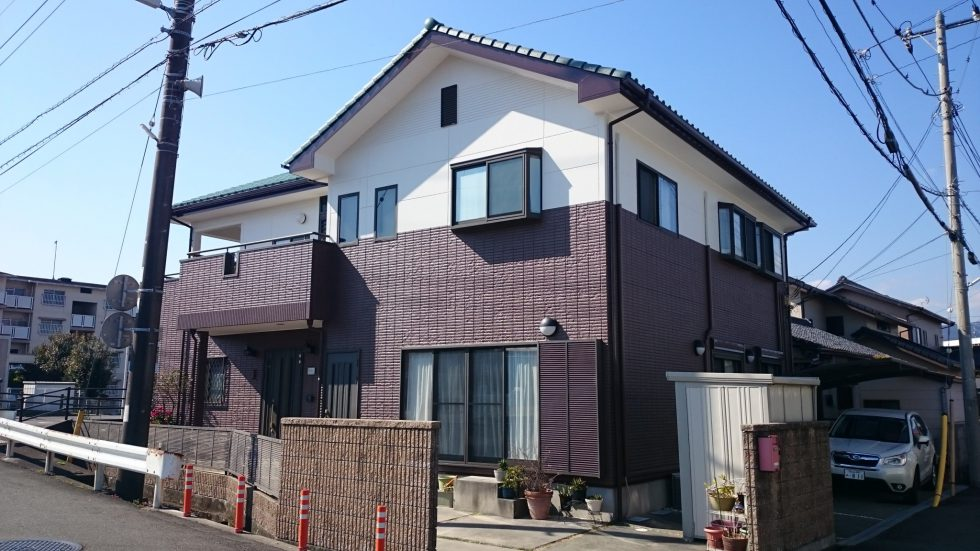 外壁塗装 (富士市T様邸)