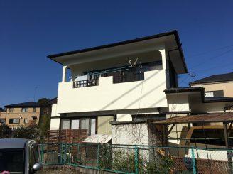 外壁・屋根塗装 (静岡市葵区S様邸)