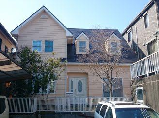 外壁・屋根塗装(静岡市清水区S様邸)