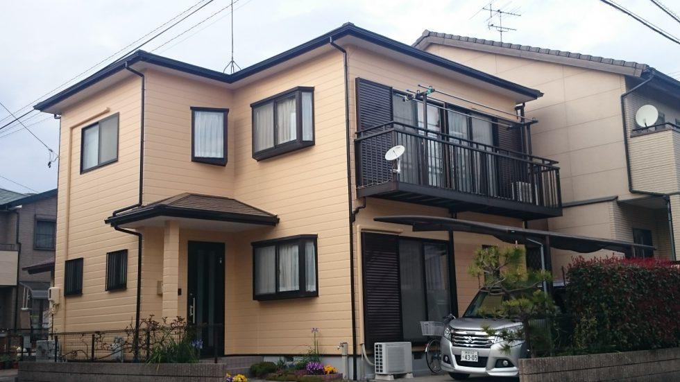 外壁・屋根塗装(静岡市駿河区K様邸)