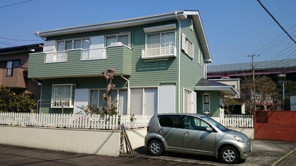 外壁・屋根塗装(富士市S様邸)
