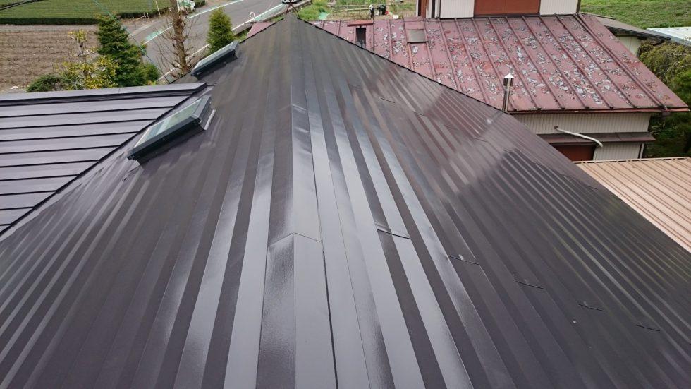 屋根塗装(静岡市葵区O様邸)