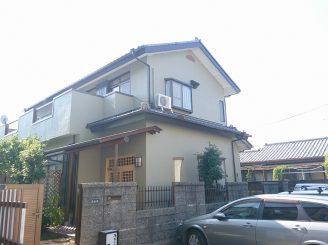 外壁塗装(静岡市清水区H様邸)