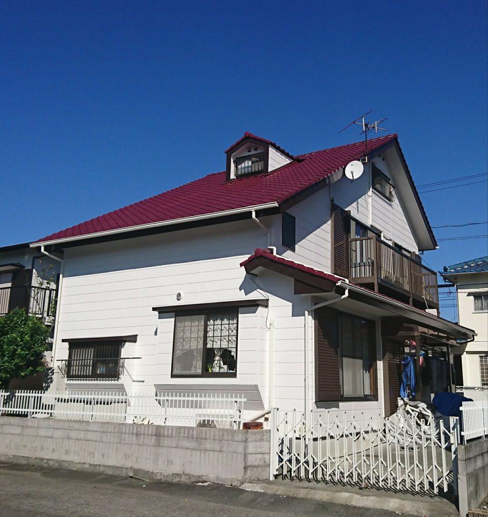 外壁塗装(静岡市駿河区八幡M様邸)