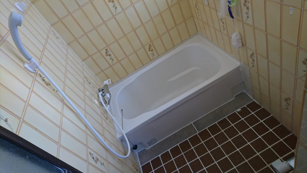 浴槽リフォーム(静岡市葵区)
