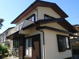 屋根・外壁塗装(静岡市葵区瀬名H様邸)