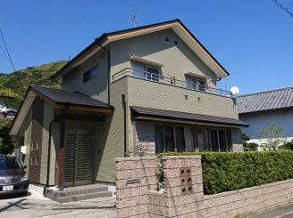 屋根・外壁塗装(静岡市駿河区北丸子M様邸)