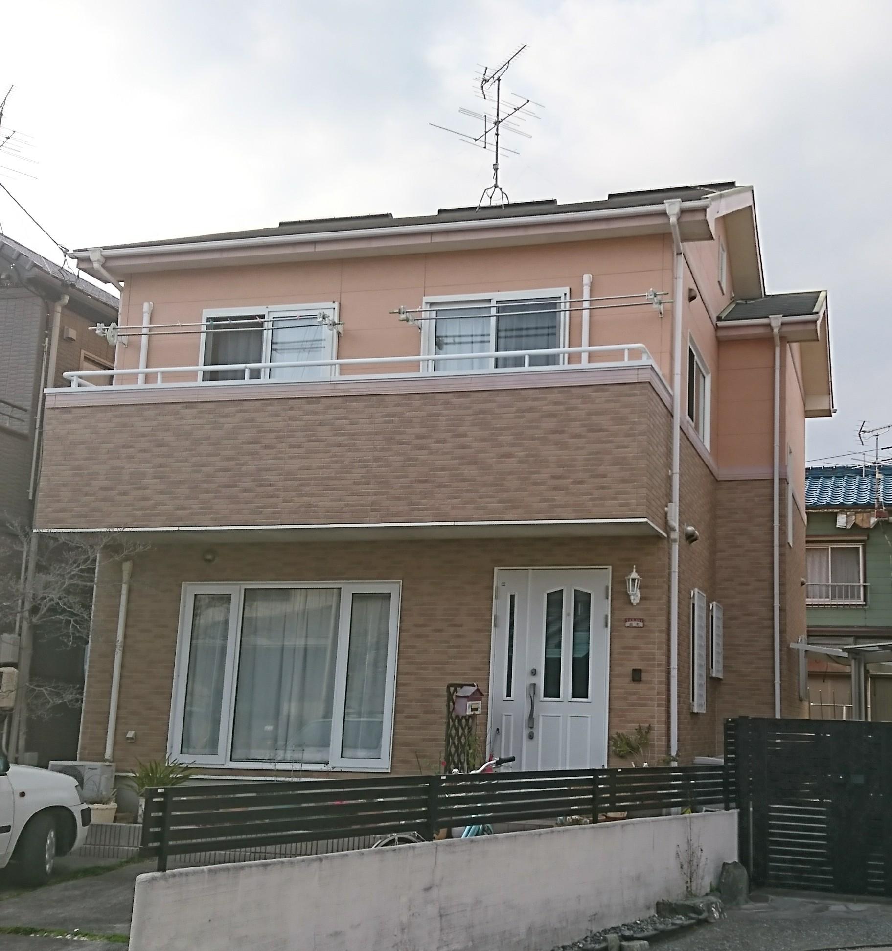 外壁・屋根塗装工事(静岡市駿河区小鹿 T様邸)