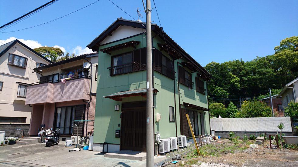 外壁塗装(静岡市駿河区向敷地 I様邸)