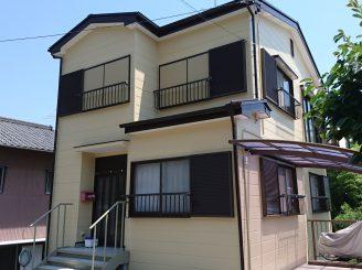 外壁・屋根塗装(静岡市清水区庵原町K様邸)