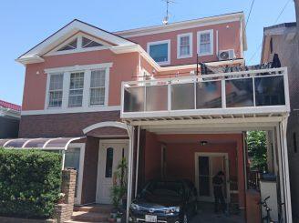 屋根・外壁塗装(静岡市葵区水落町 T様邸)