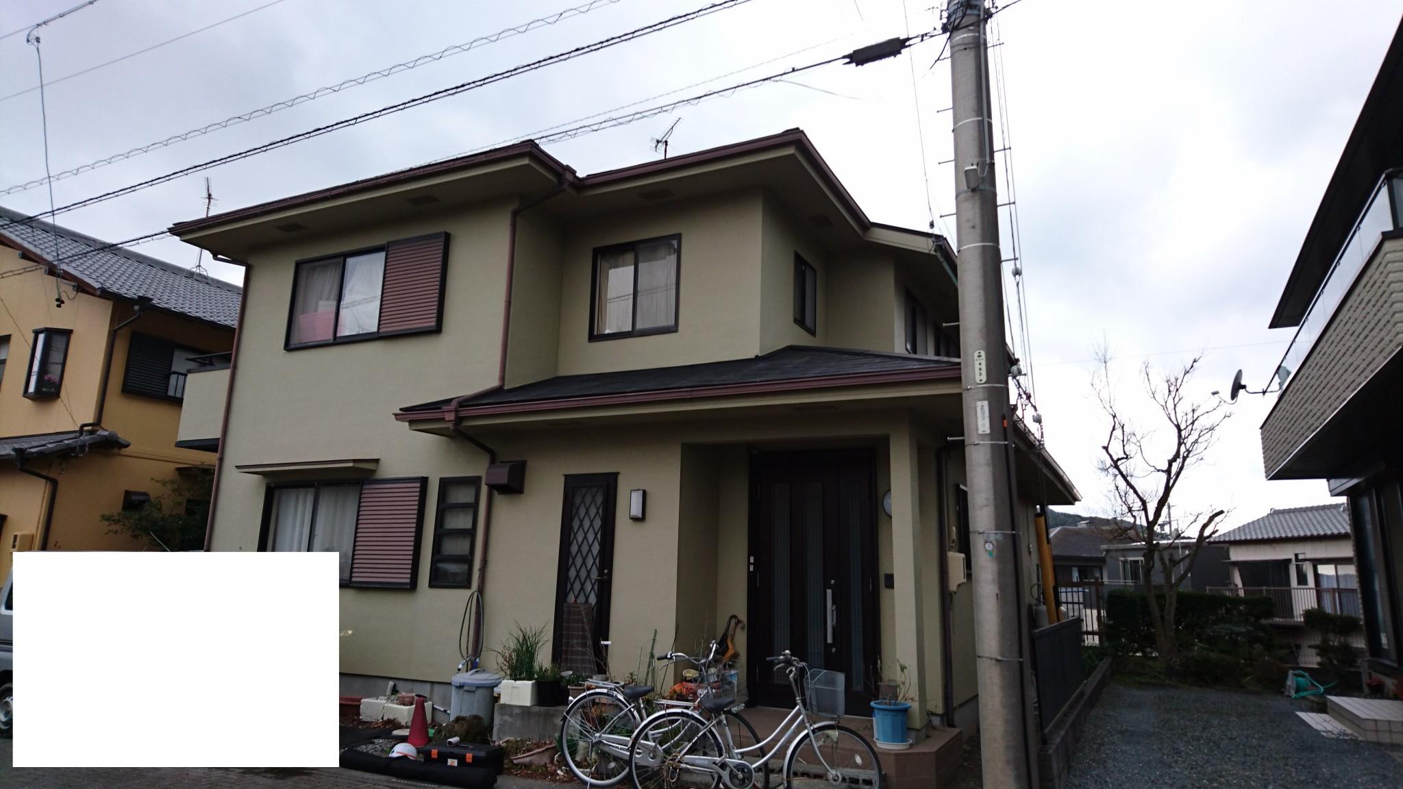 外壁・屋根塗装 (藤枝市 F様邸)