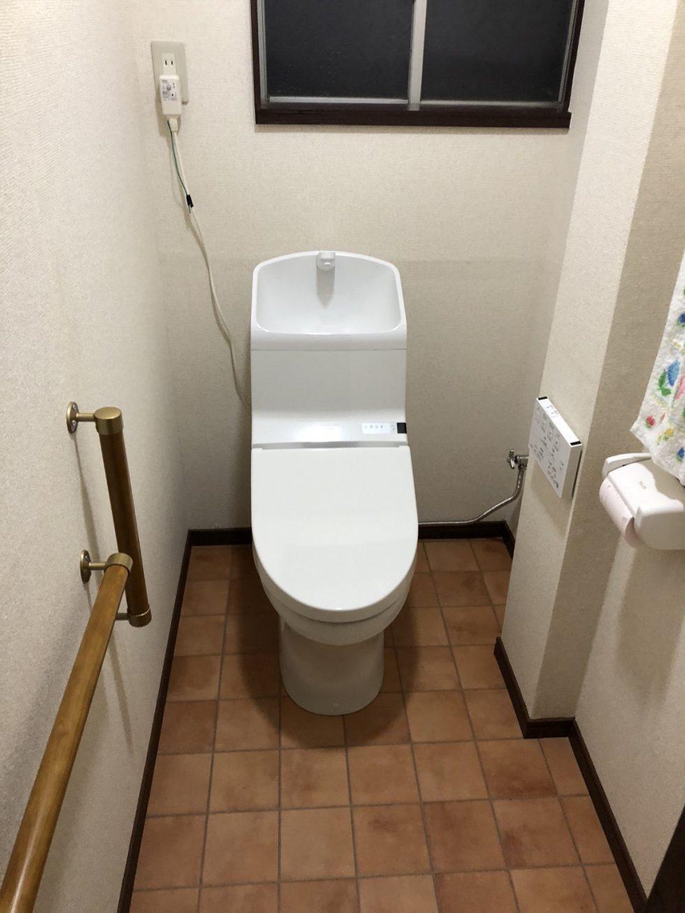 トイレ改修工事(静岡市駿河区池田Y様邸)