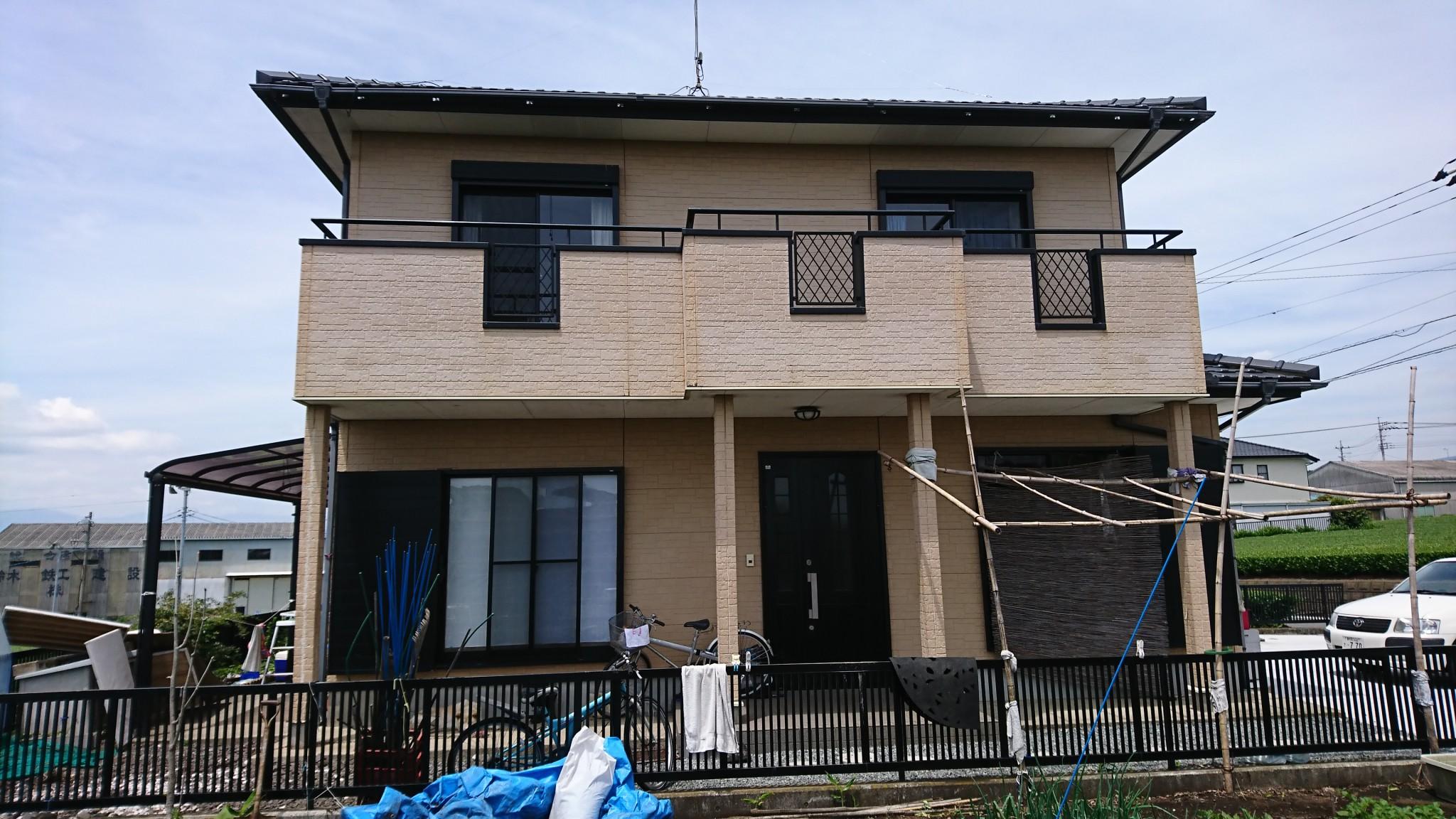 外壁塗装(富士市I様邸)