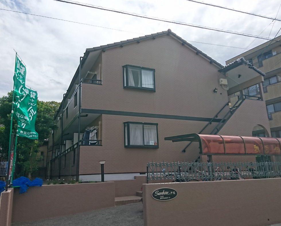 外壁・屋根塗装(静岡市駿河区谷田アパート)