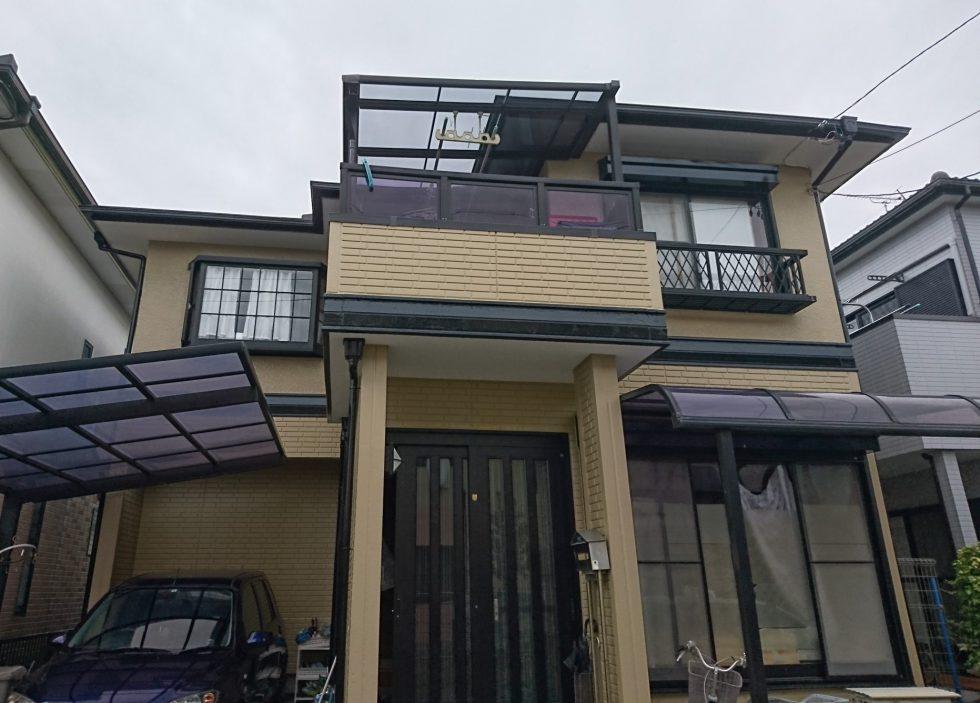 外壁・屋根塗装(静岡市清水区楠H様邸)