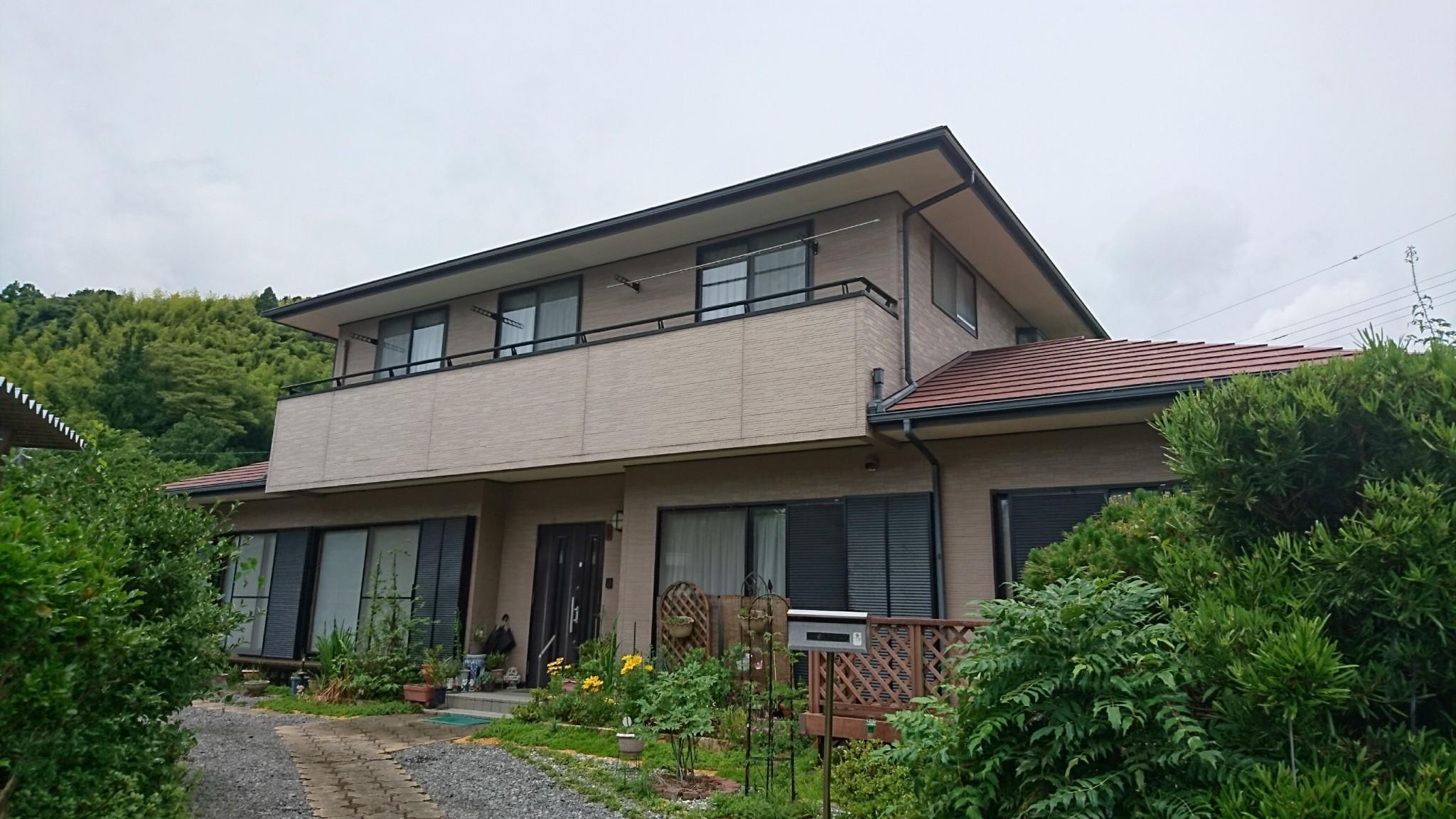外壁・屋根塗装(藤枝市E様邸)