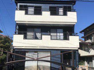 屋根・外壁塗装工事(清水区下野 T様邸)