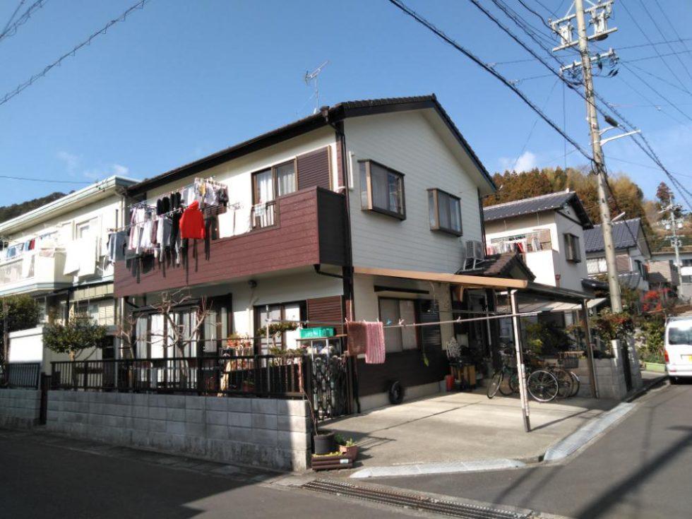 外壁塗装工事(静岡市葵区羽鳥本町M様邸)