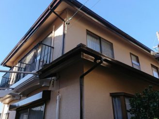 屋根・外壁塗装工事(静岡市葵区松富Y様邸)