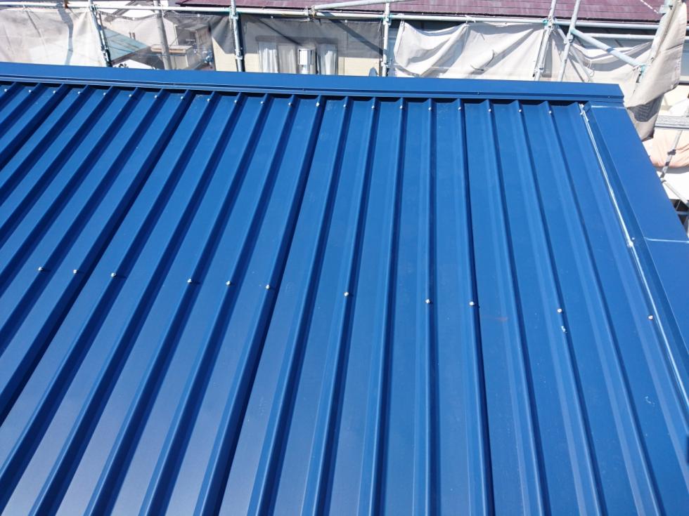 屋根塗装工事(静岡市葵区上足洗k様邸)