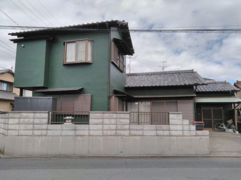 外壁塗装工事(静岡市清水区三保I様邸)