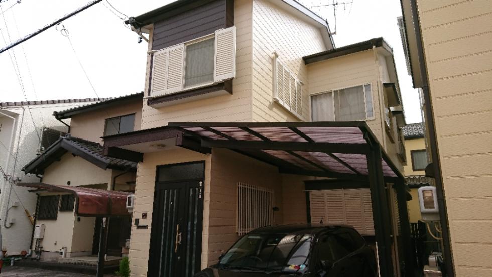 屋根・外壁塗装工事(静岡市駿河区鎌田O様邸)