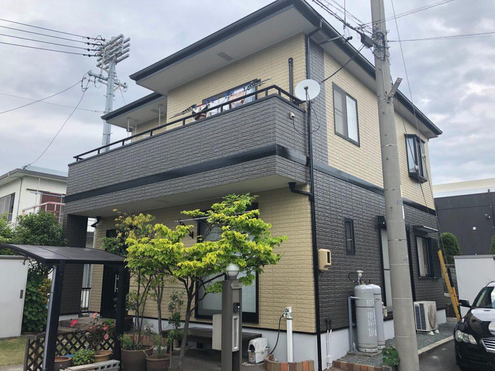 屋根・外壁塗装工事(静岡市清水区駒越北町S様邸)