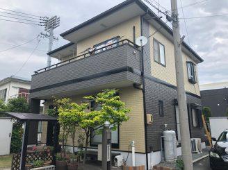 屋根、外壁塗装工事(静岡市清水区駒越北町S様邸)