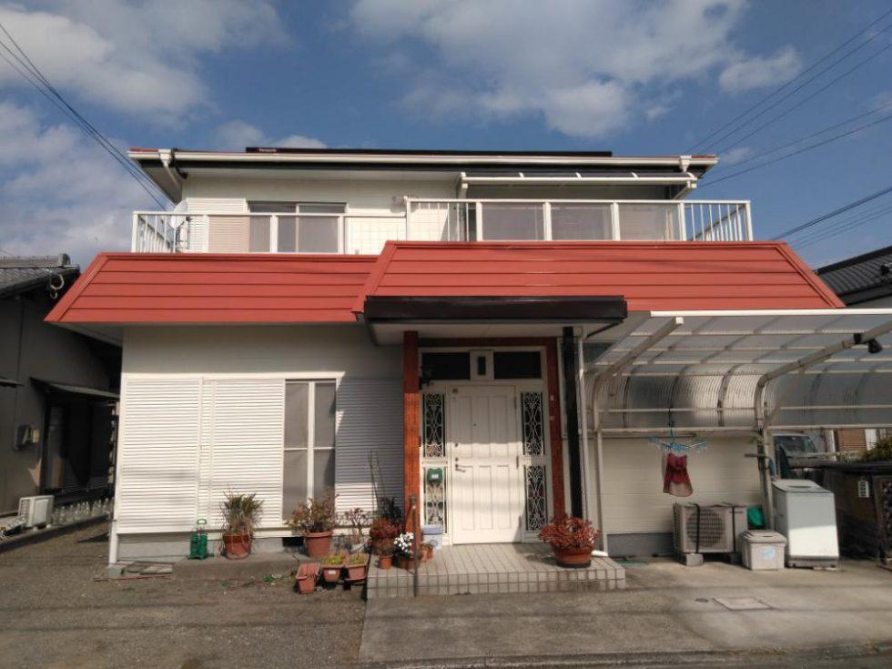 外壁・屋根塗装工事(I様邸)