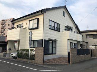 屋根、外壁塗装工事(静岡市清水区神田町I様邸)