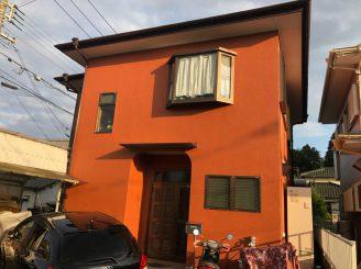 外壁塗装工事(富士市北松野T様邸)