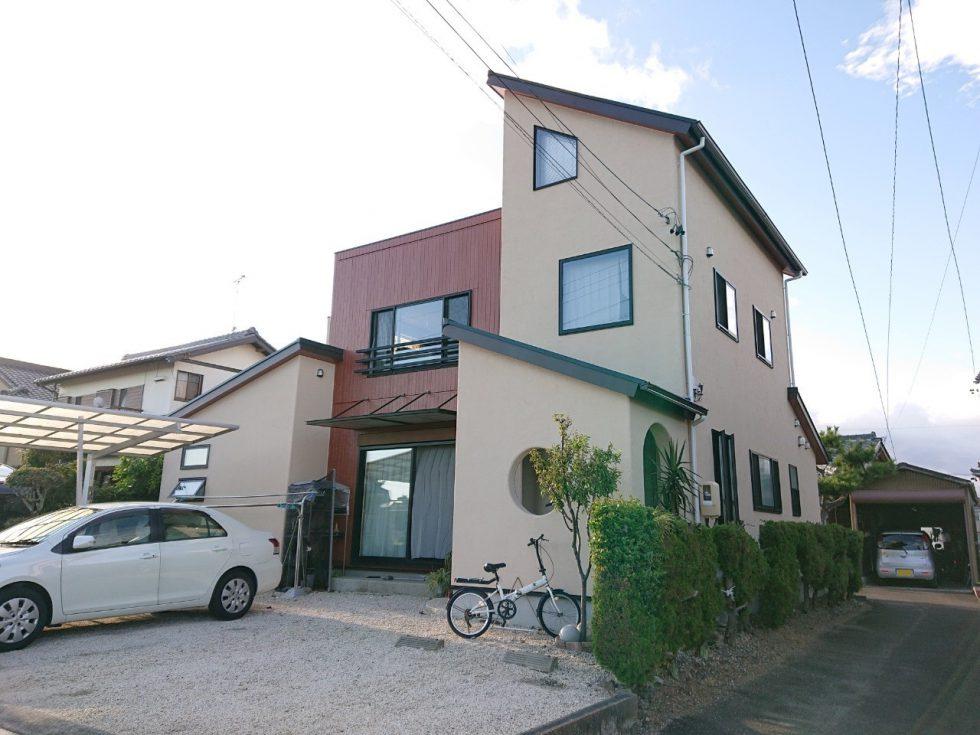 屋根・外壁塗装工事(島田市東町E様邸)