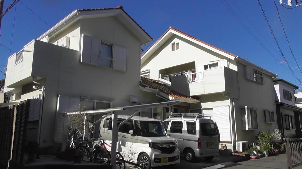 外壁塗装工事(静岡市清水区浜田町U様邸)