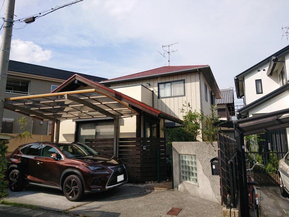 屋根・外壁塗装工事(静岡市葵区北安東N様邸)